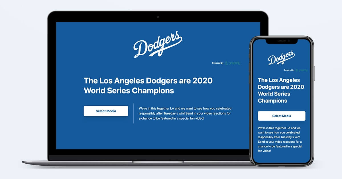 LA Dodgers Co-Create With Fans to Celebrate Championship