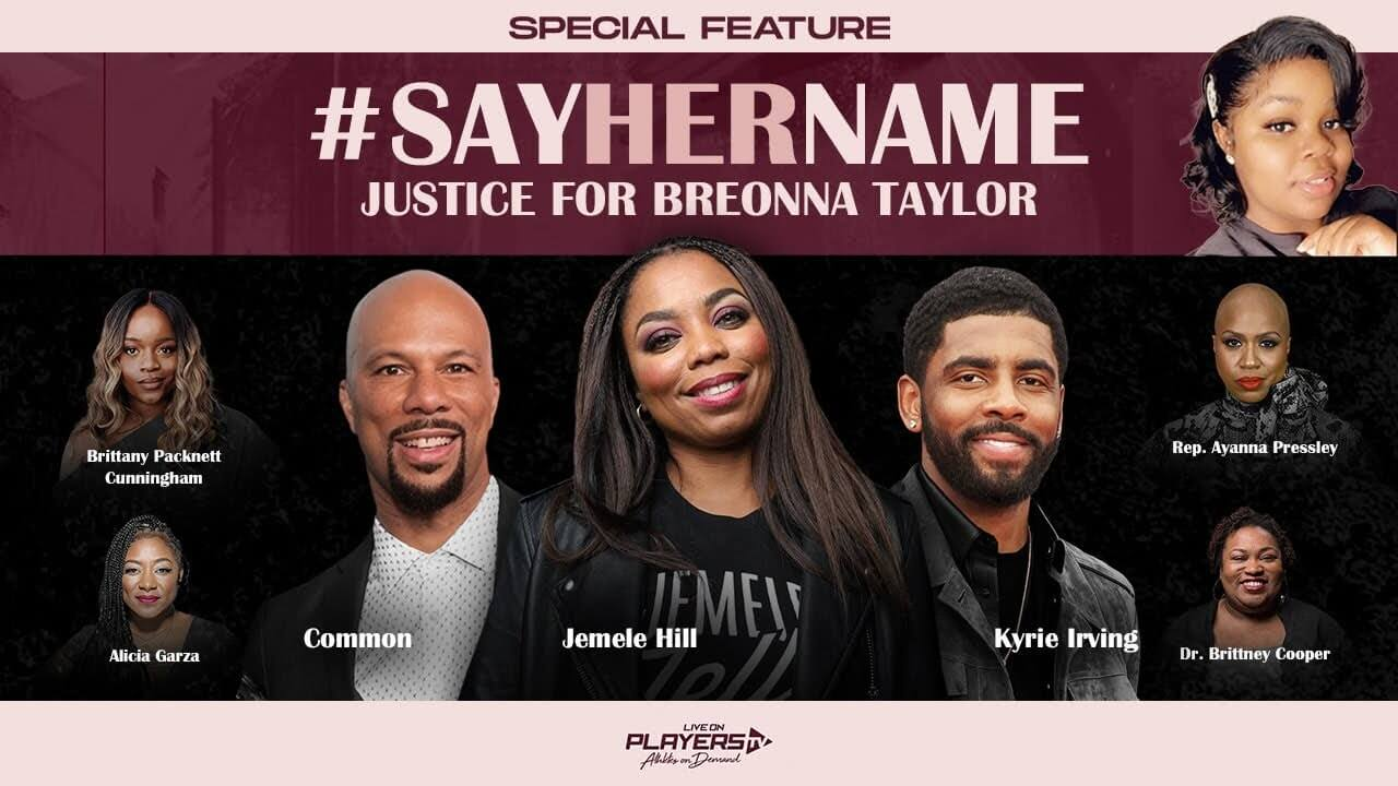 #SAYHERNAME- Kyrie Irvings Justice for Breonna Taylor Special