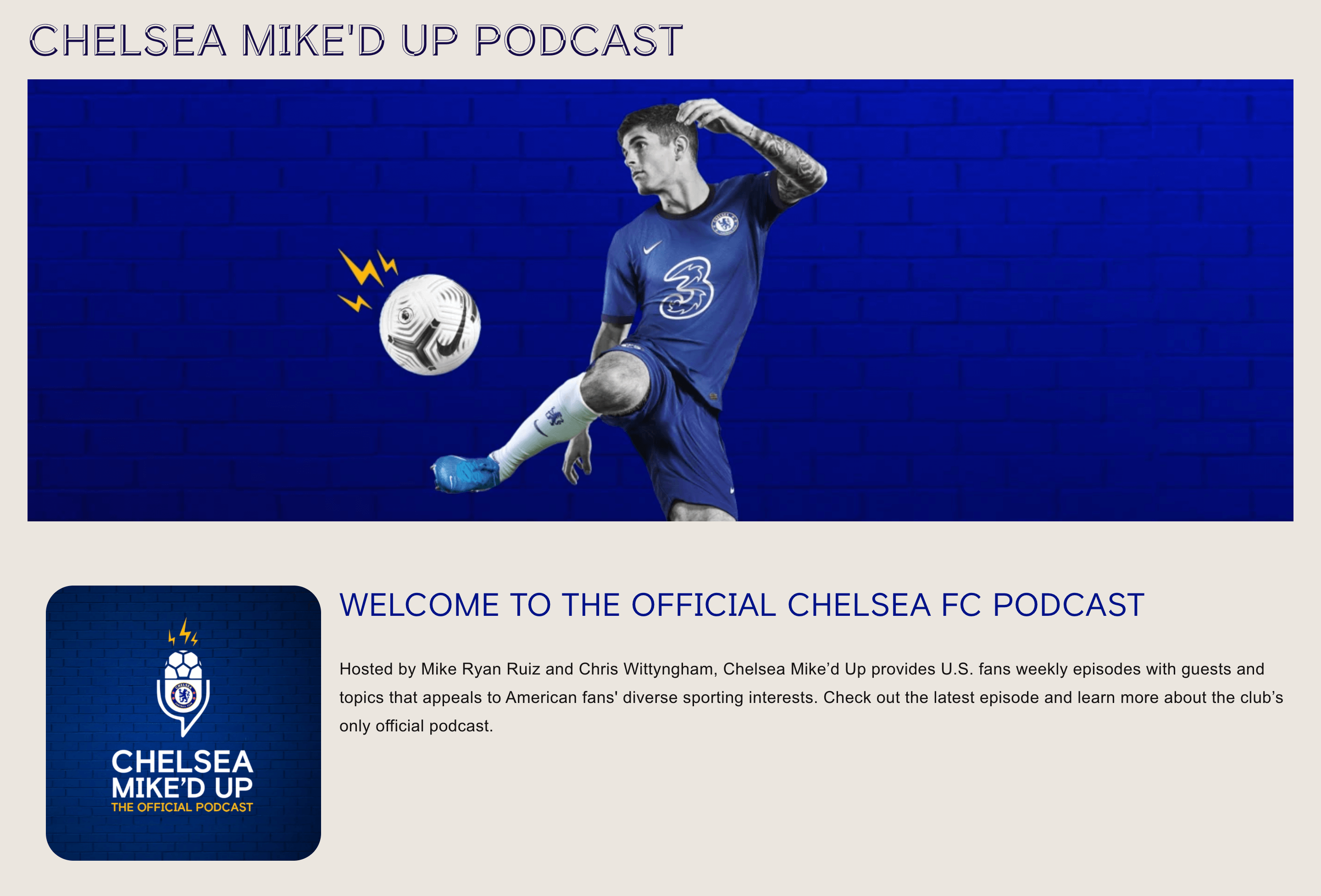 Chelsea Miked Up Podcast