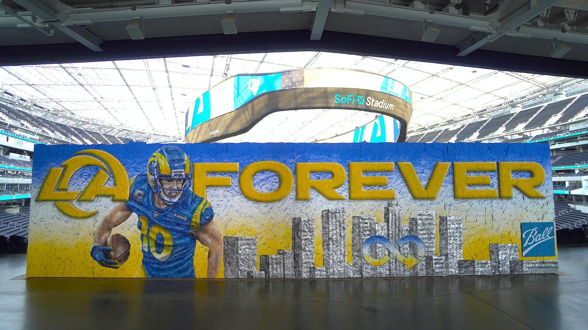 Forever LA- Ball Corporation x LA Rams