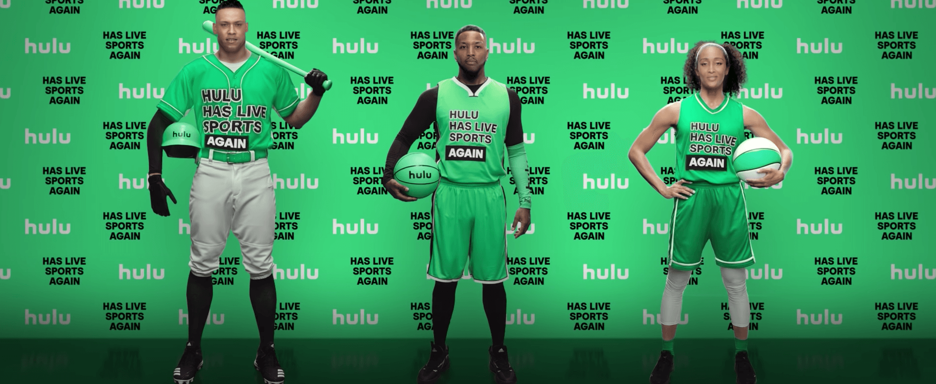 Hulu Has Live Sports Again