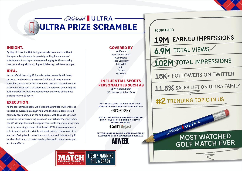 Michelob ULTRA The Match