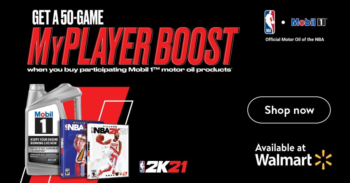 Mobil 1 / NBA 2K21 Partnership