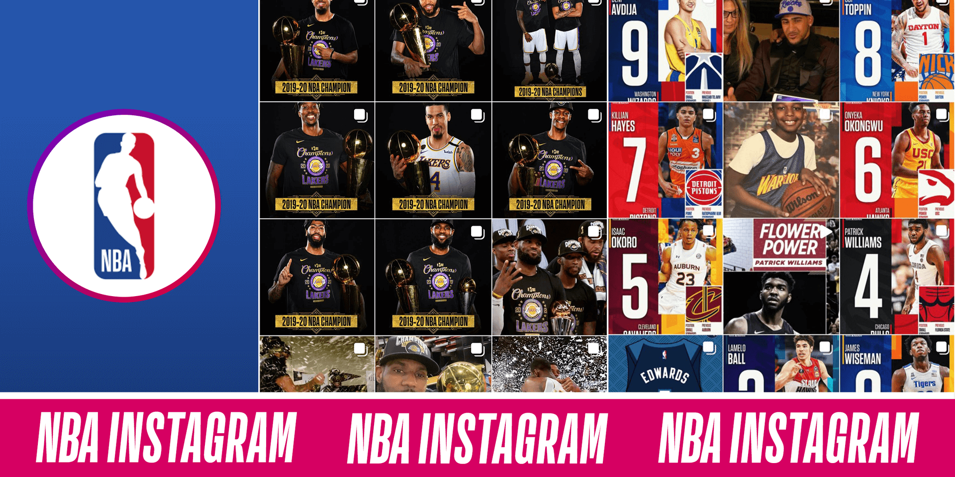 NBA Instagram's Highest-Performing Year Ever