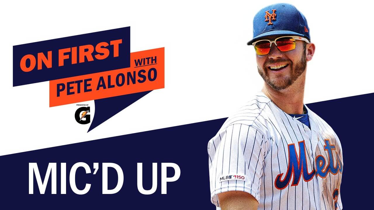 On First with Pete Alonso