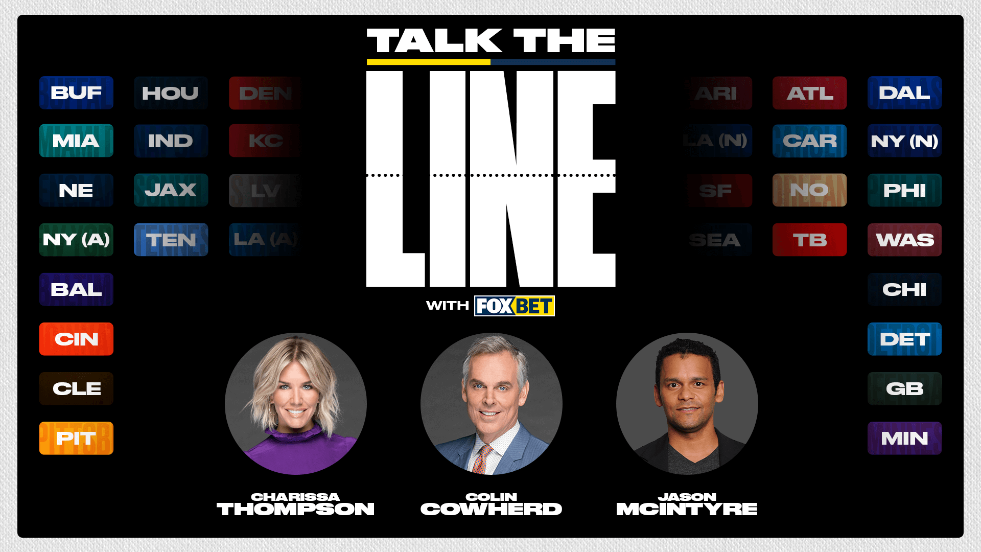 Talk the Line with FOX Bet