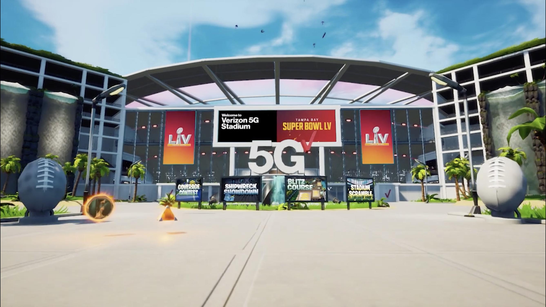 Verizon 5G Stadium in Fortnite