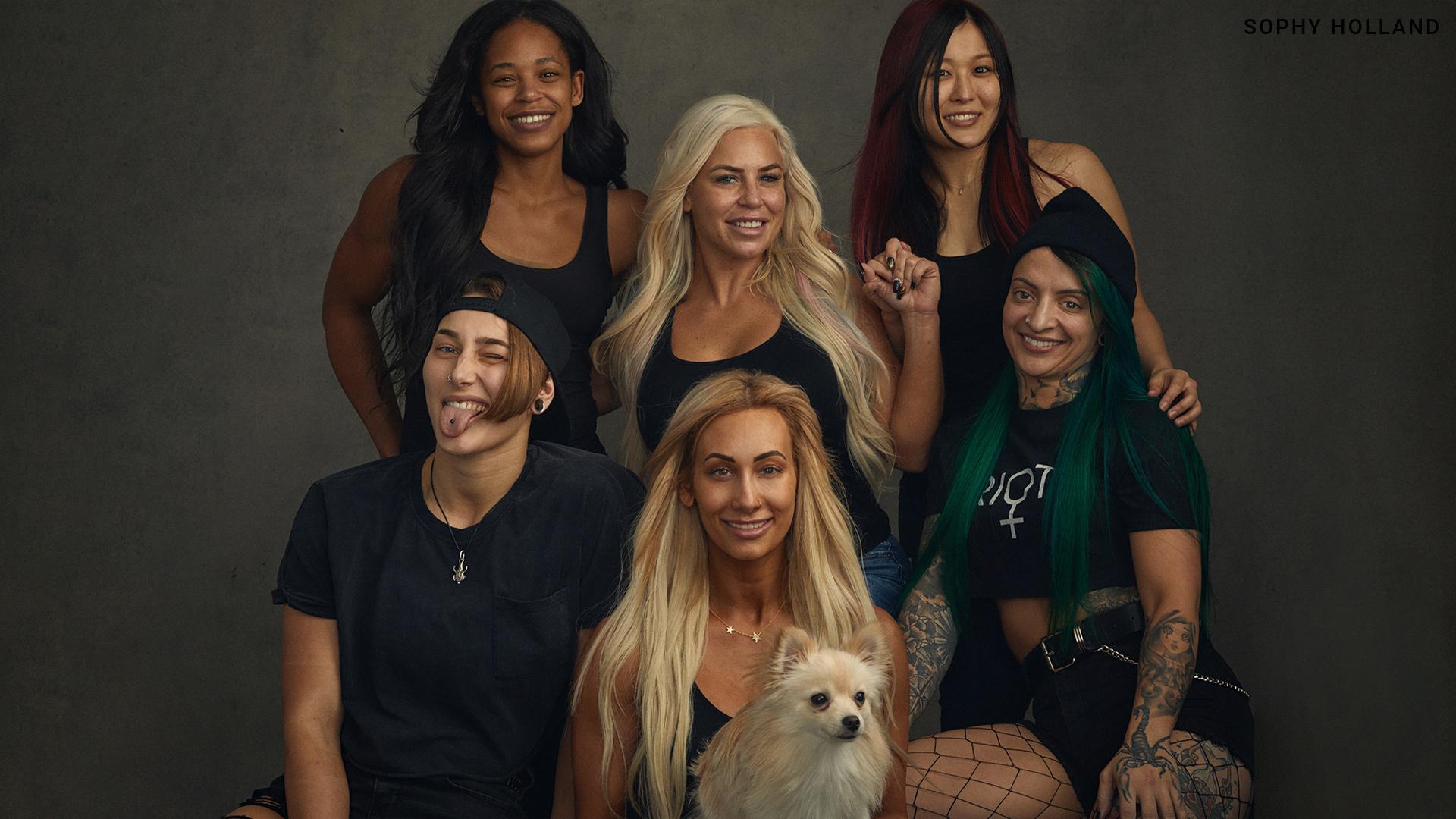 WWE no makeup
